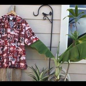 🐠🌺Authentic Hawaiian Aloha Shirt 🌺
